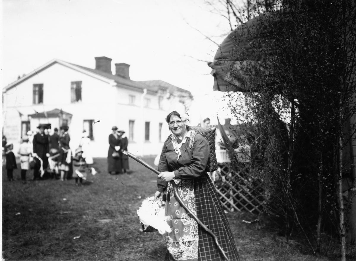 Hushållsskolan Södra Kungsgatan 31  Våren 1915