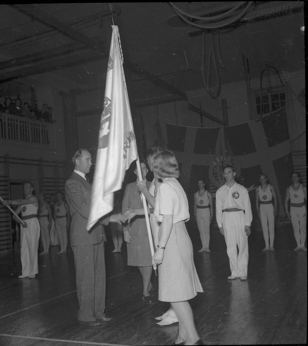 Gävle Gymnastikförenings 10-års jubileum. 1946