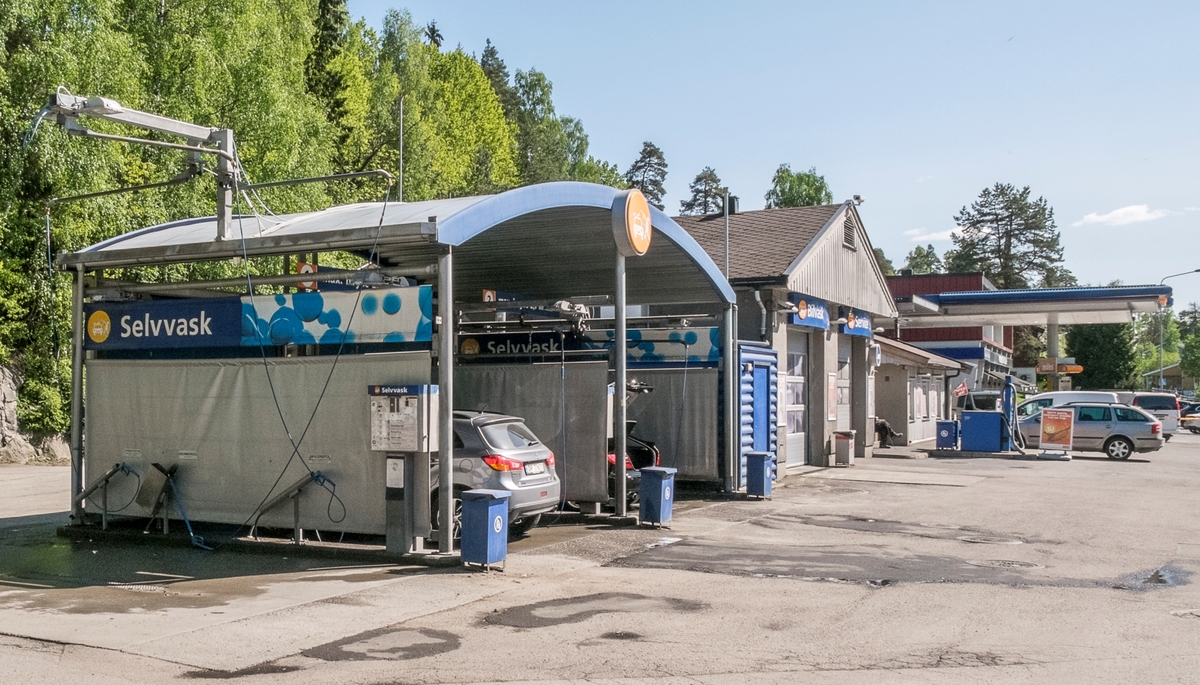 Statoil bensinstasjon Skiveien Kolbotn Oppegård