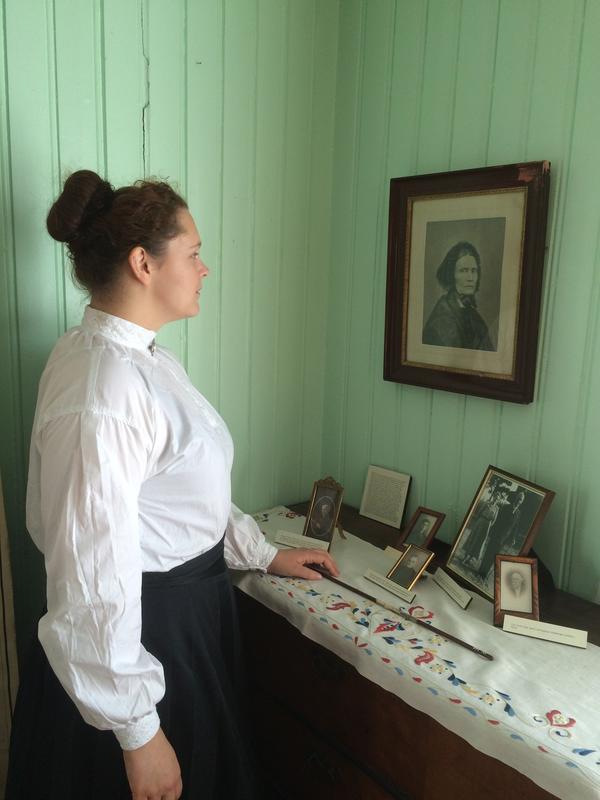 Lærerinnen på Sagstua skole.