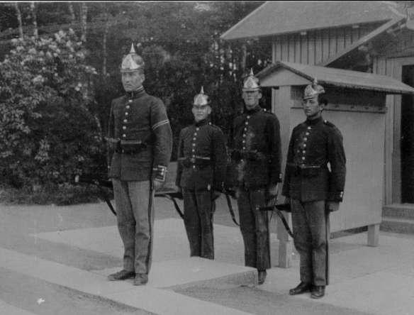 Garnisvakt, juni 1922.