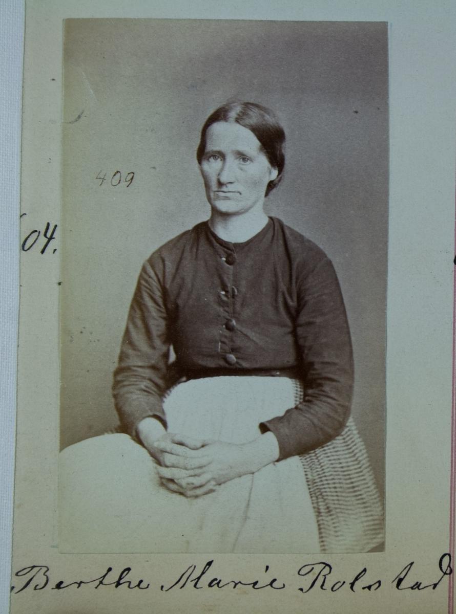 Fangeportrett, Berthe Marie Rolstad