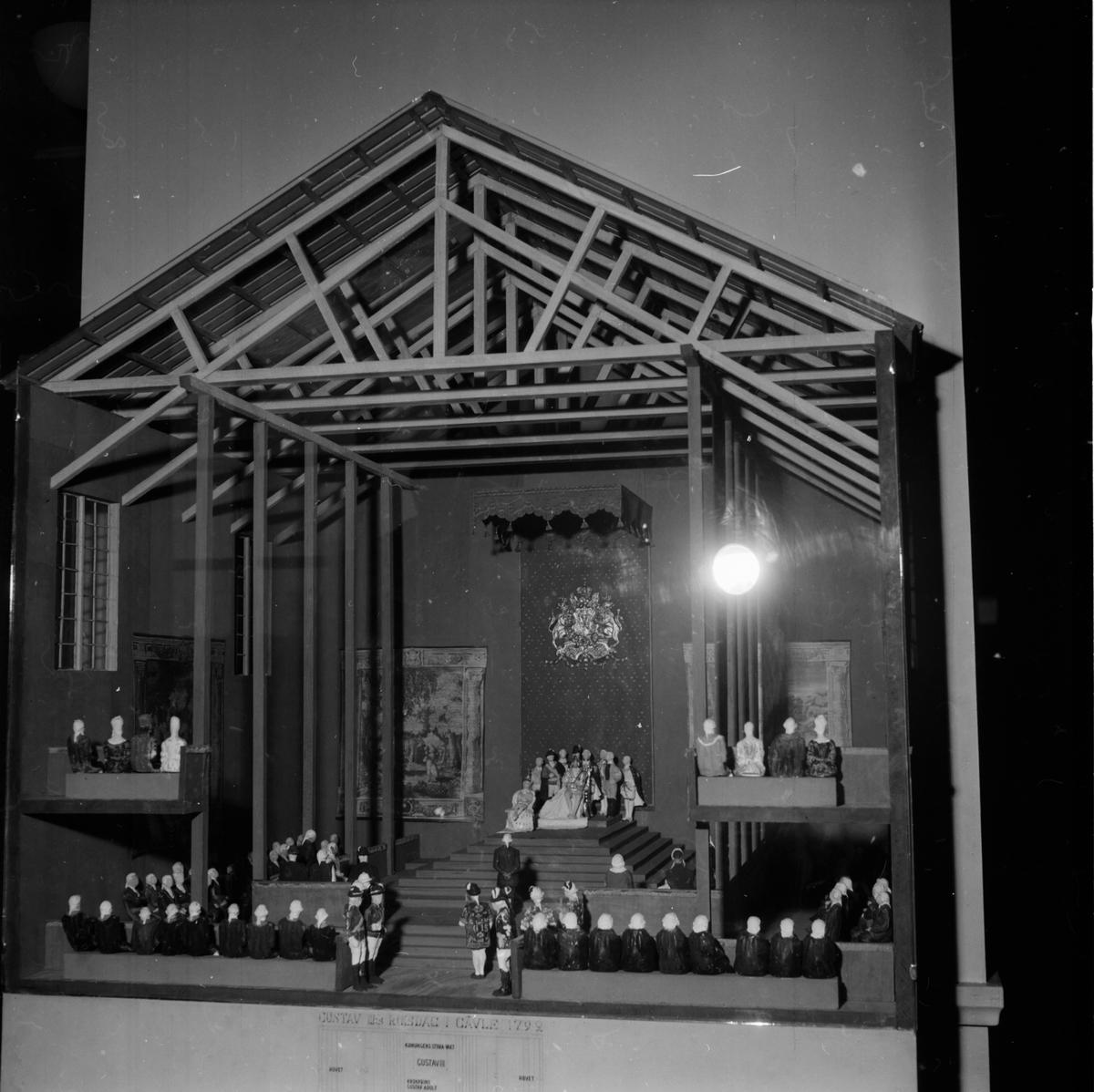 En vandringsutställning om regeringsformen 1809 visades på Gävle Museet mellan den 10/1 - 24/1 1960.