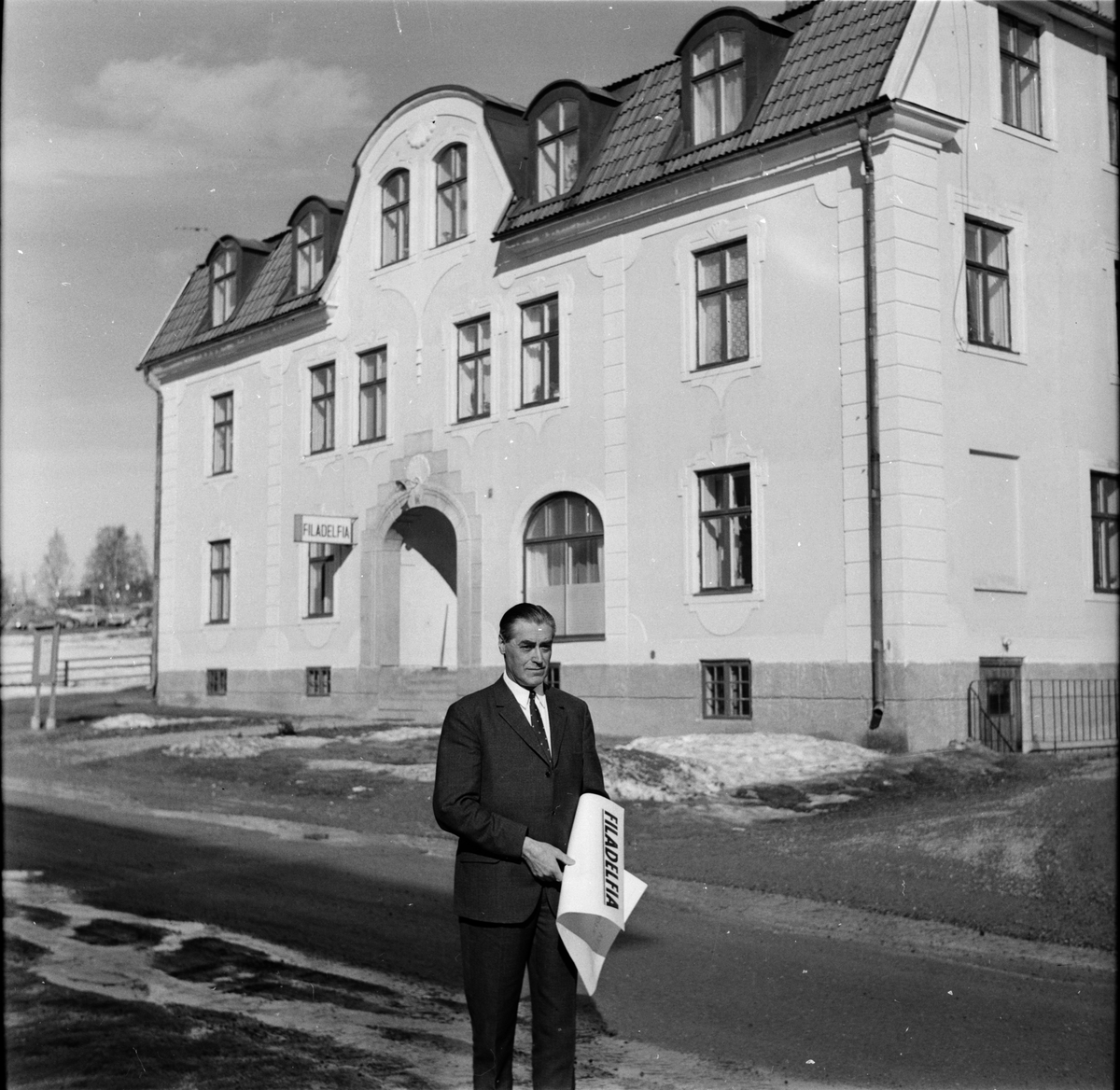 Ljusdal, Filadelfia, Pastor Dahlberg, 28 Mars 1968