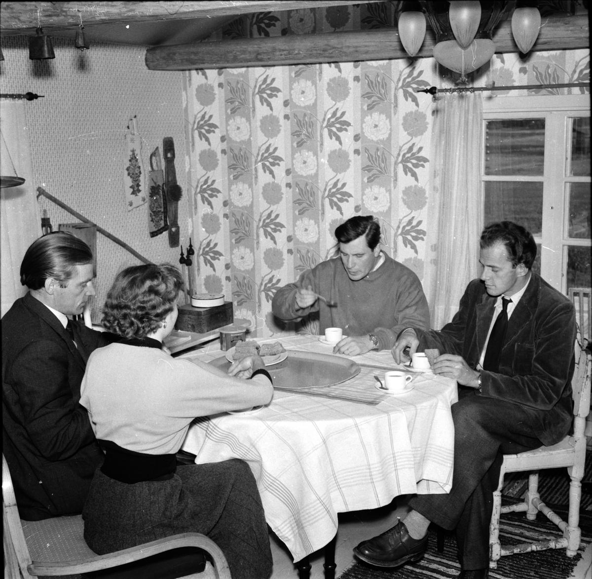Arbrå, Postm. JA Flink, Mars 1968
