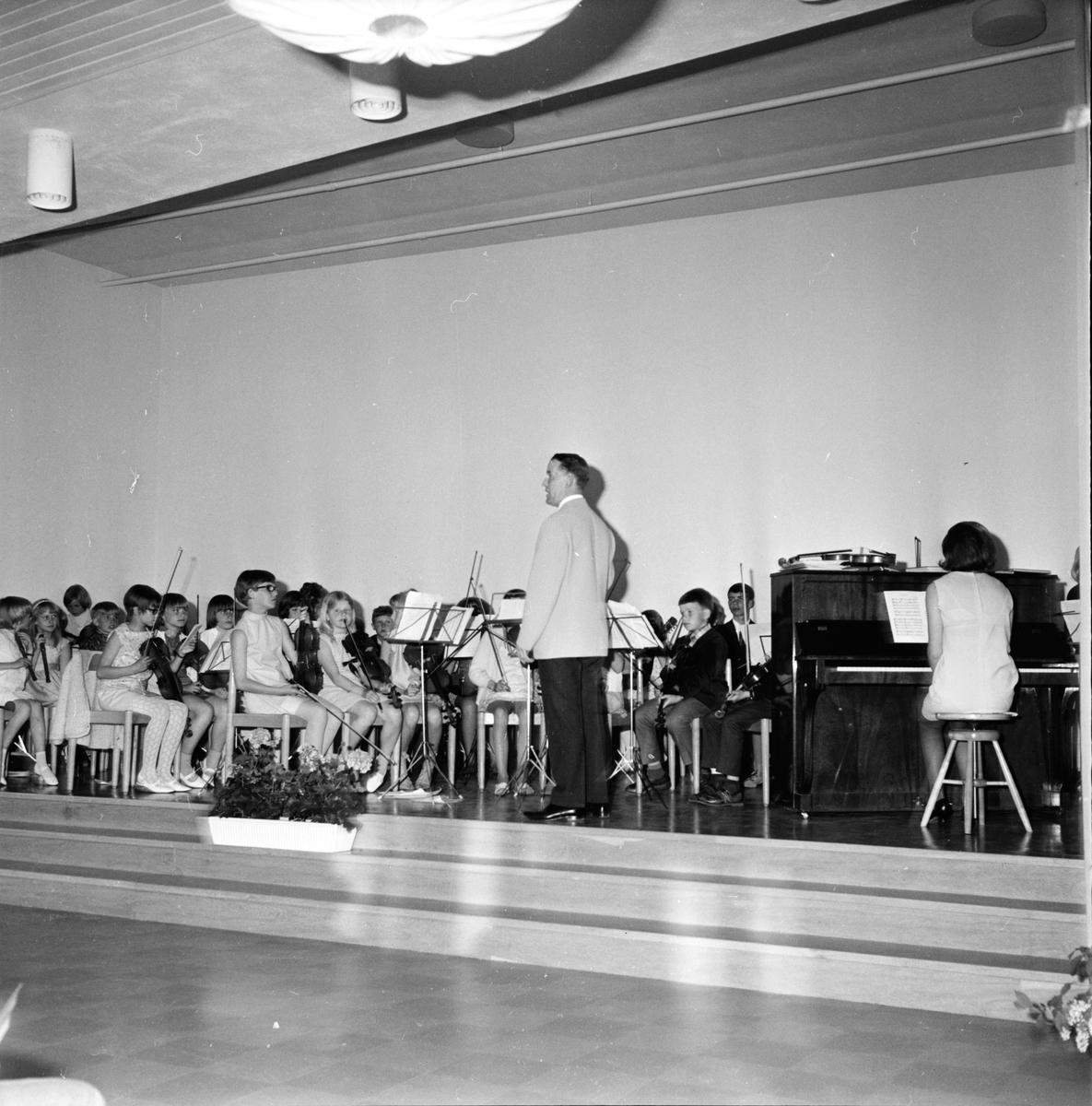 Arbrå, Musikskolas avslutning, 3 Juni 1967