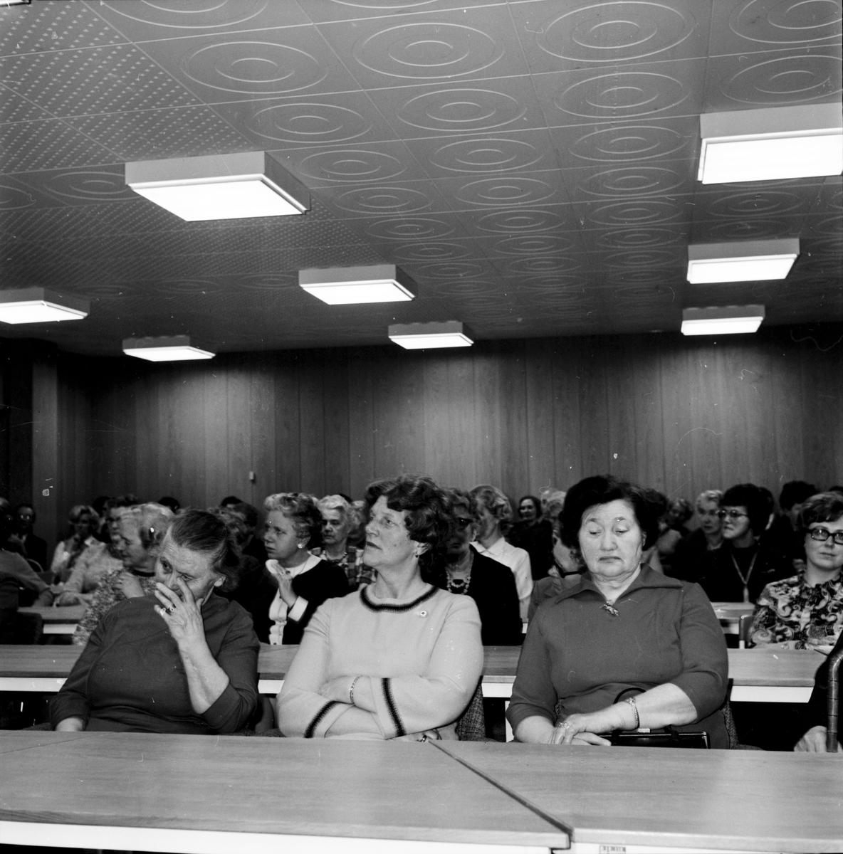 Arbrå, R.K. Årsmöte, April 1971