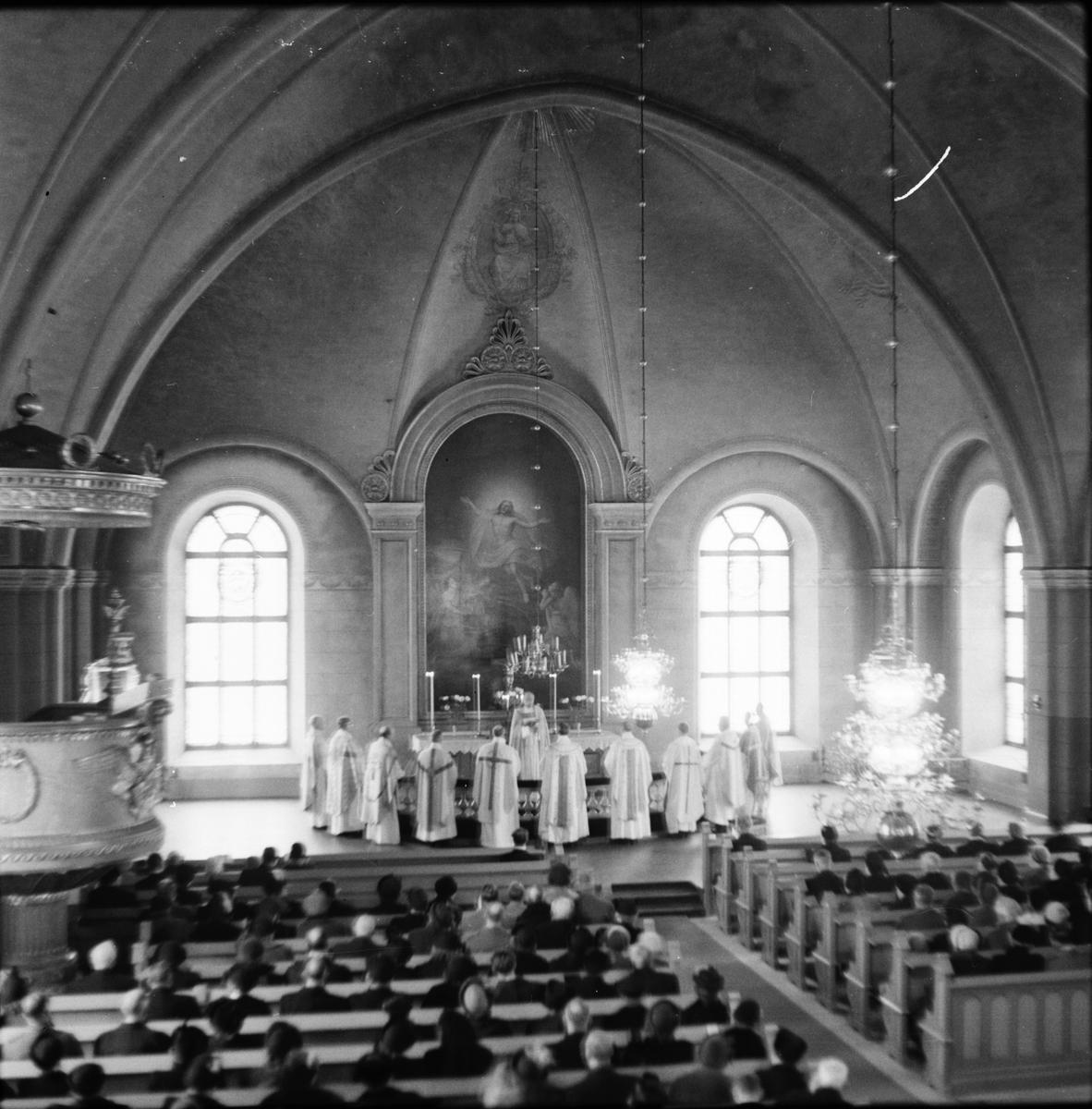 Alfta kyrka, Ärkebiskopens visitation, 1952