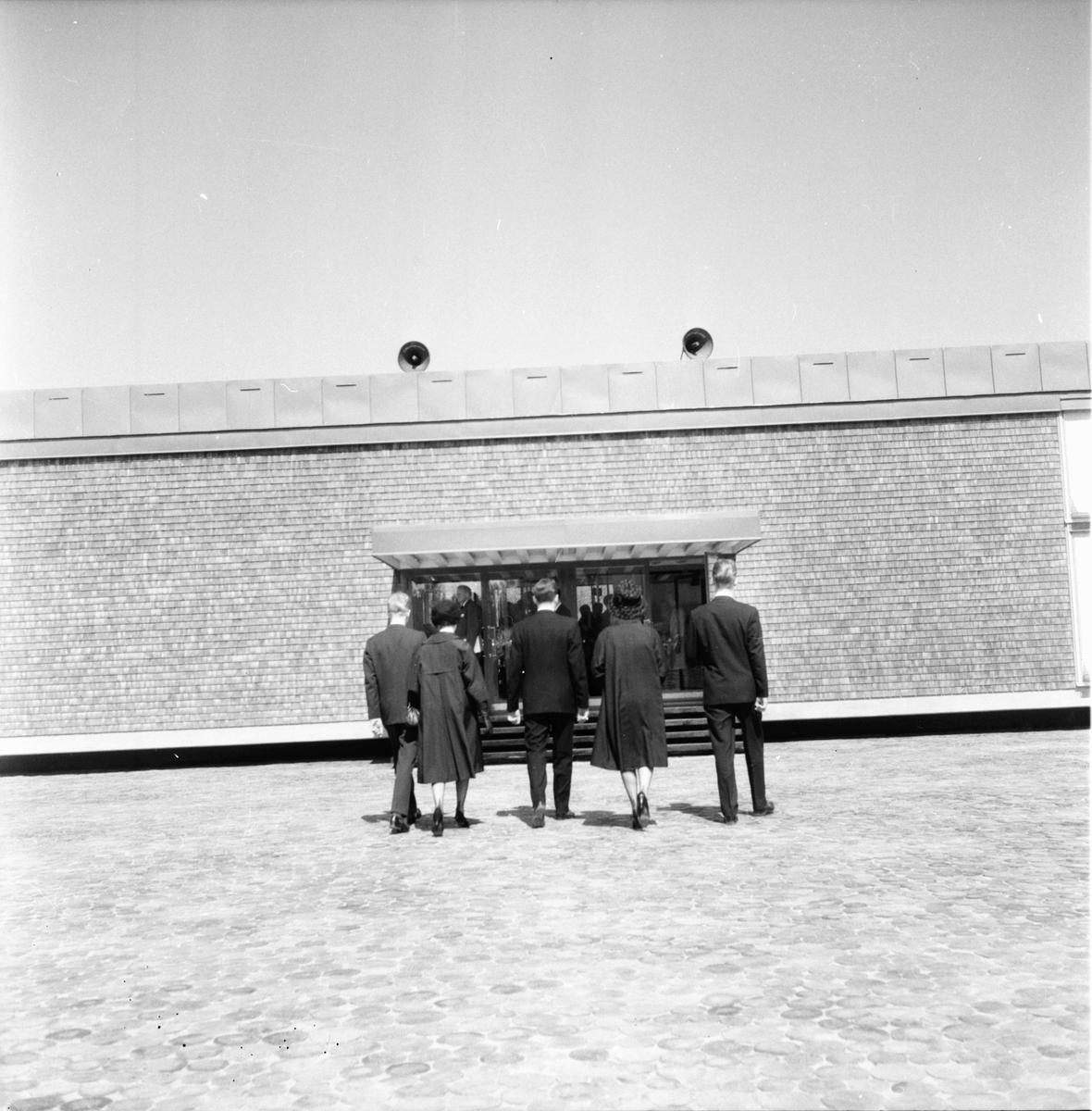 Silvanum, invigning. 1 juni 1961