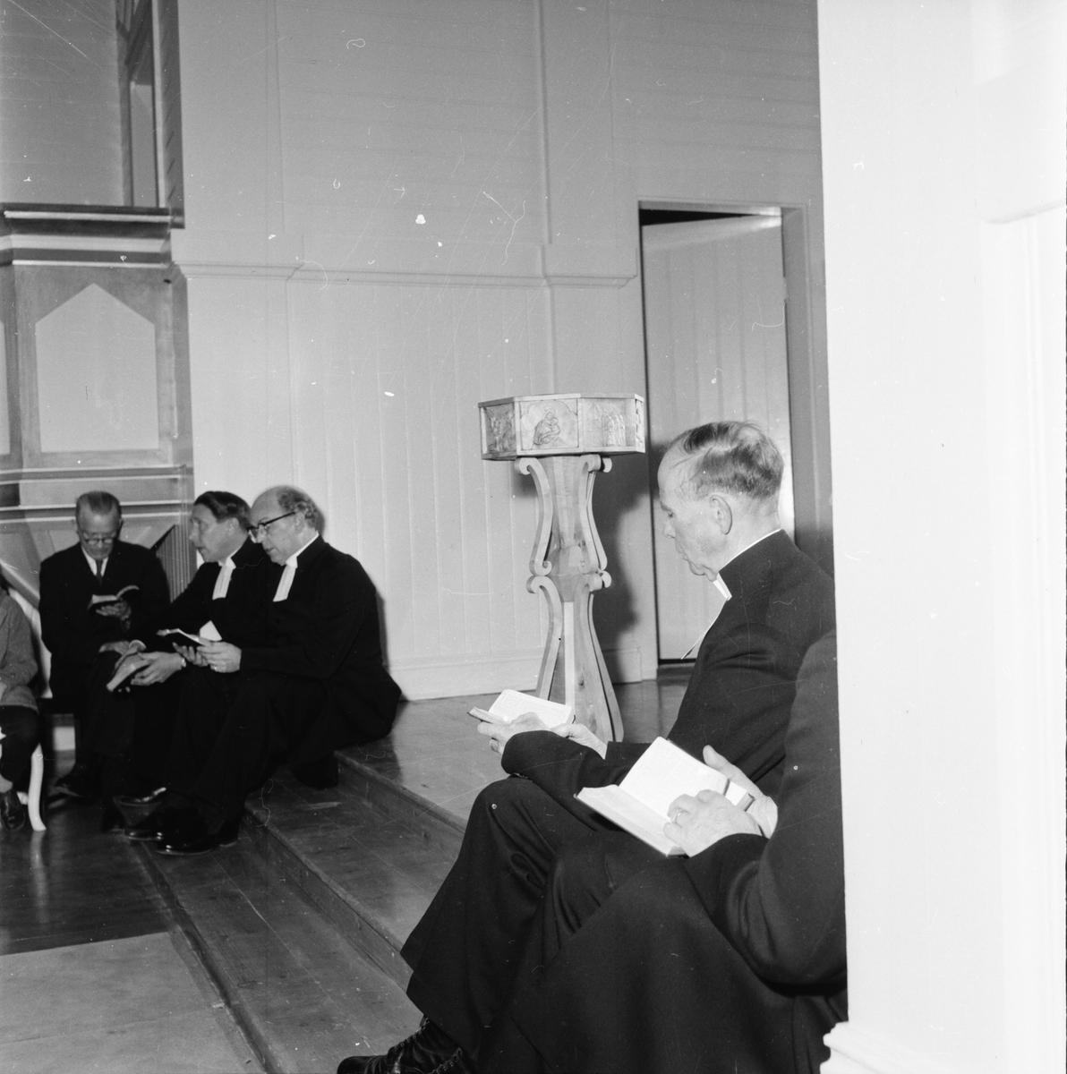 Katrineberg, Återinvigning av kapell, 1959