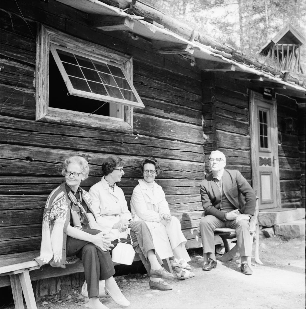 Jössebo, Scouter fr. Arbrå, Juli 1970