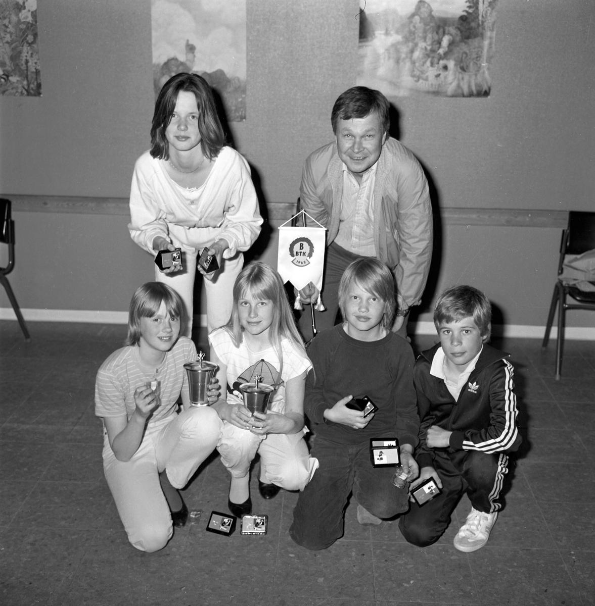 Bomhus BTK avslutning. Maj 1985