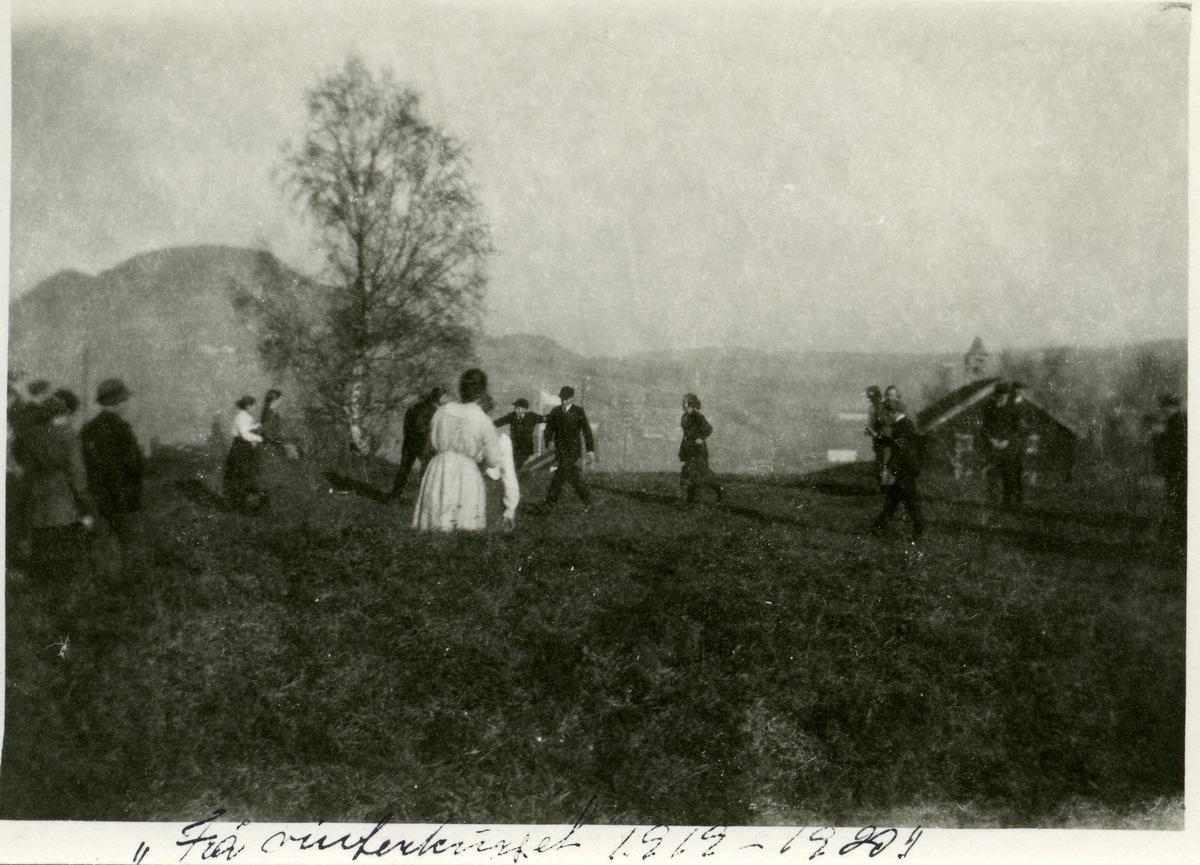 Elever ved Vestoppland folkehøgskule. Vinterkurs 1919-1920.