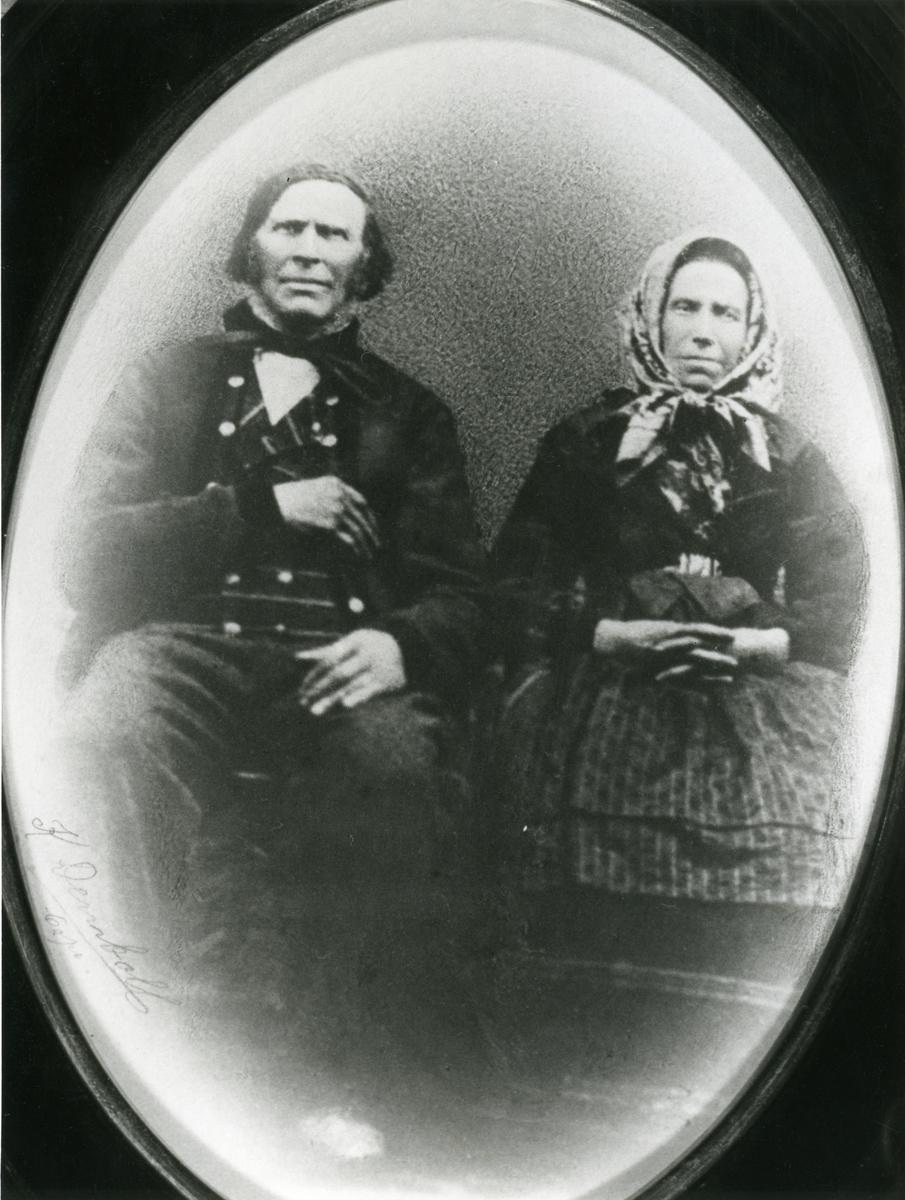 Hans P. Islandsmoen og Marit T. Islandsmoen.