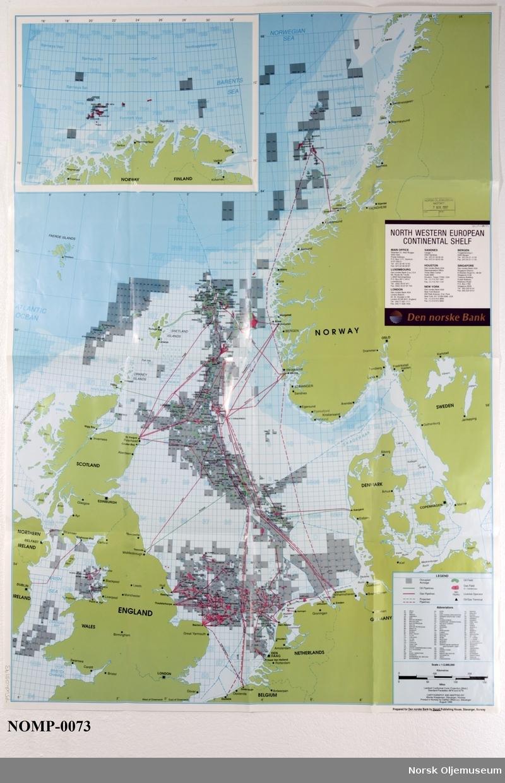 kart over oljefelt i nordsjøen Kart   Norsk Oljemuseum / DigitaltMuseum kart over oljefelt i nordsjøen