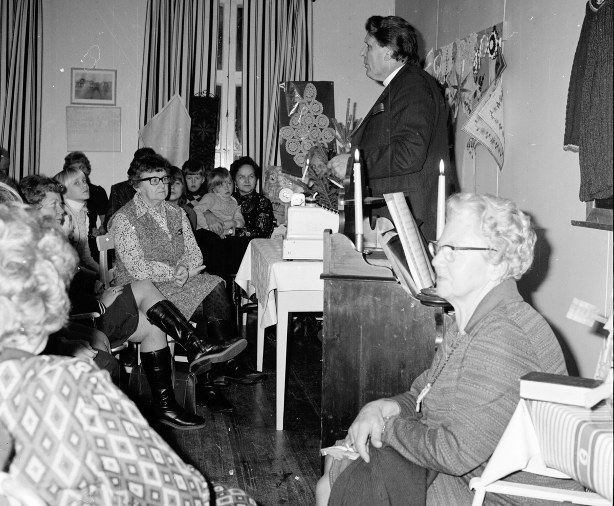 Smeden Gustav Schöld Kurland berättar, Febr 1972