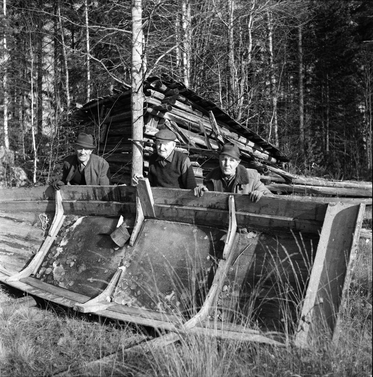 Gällsjöstuga, Iggström Oskar, Persson, Orreland, Sept 1973