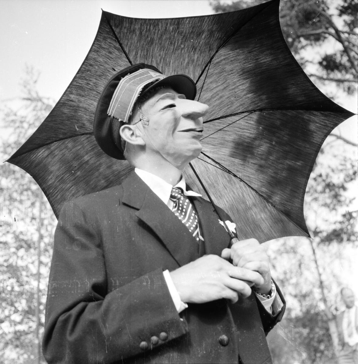 Asea-dag, på Långnäs, 1955
