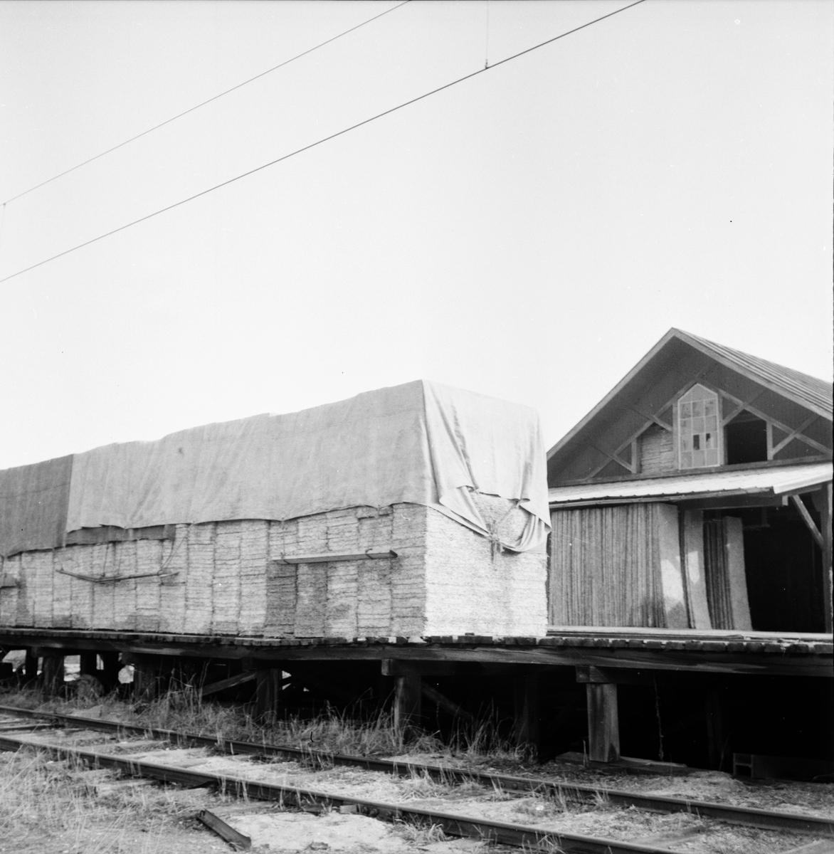 Sista plattan i fabriken Holmsveden 28/4 1958