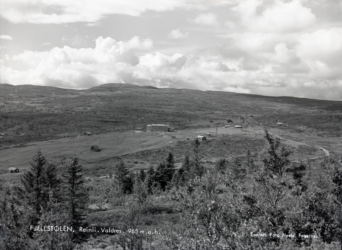 Landskapsbilde over Fjellstølen.