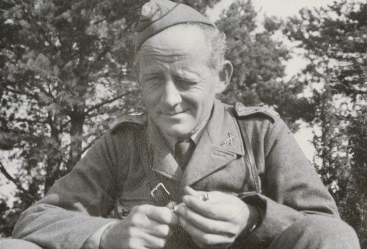 Soldat från Södermanlands regemente I 10.