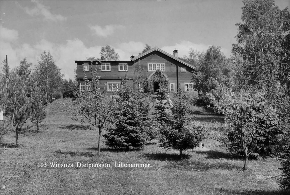 Wisnes pensjonat i Lillehammer.