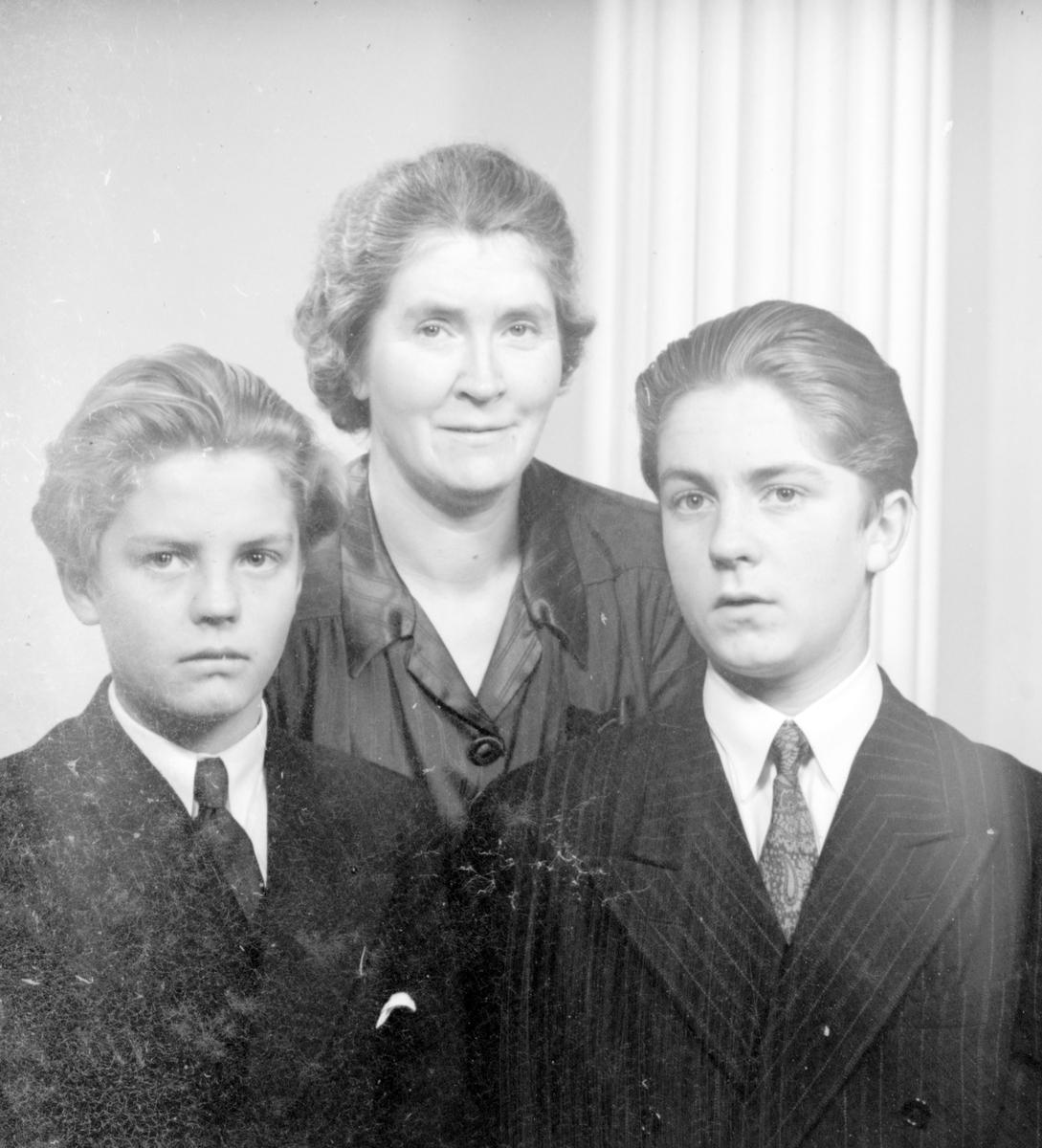 Familjen Hillborg, oktober 1944.