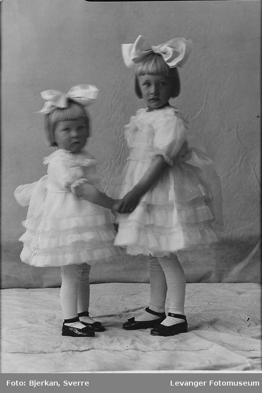 Portrett av tos søstre,  Jorid Braset.