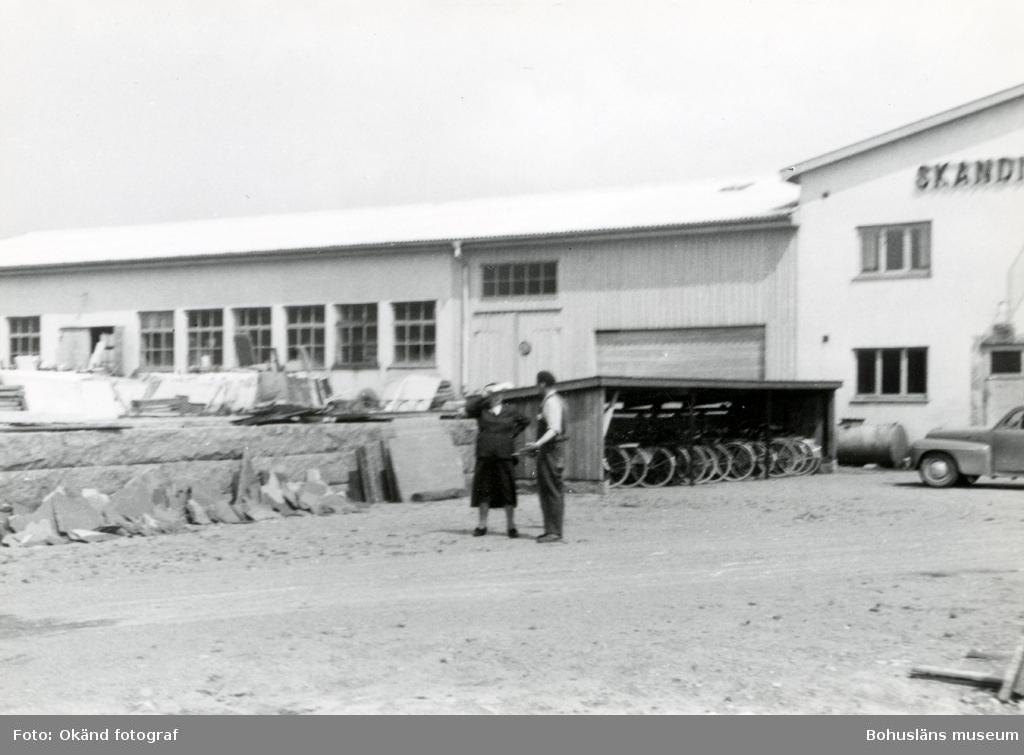Fabriksområdet runt Skandinaviska Granit AB:s kontor
