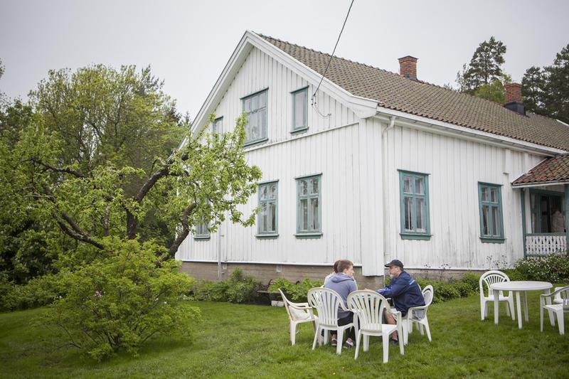 Våningshuset på Skårer Gård
