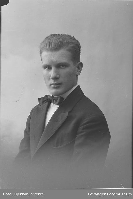 Portrett av Sigmund Sommerro.
