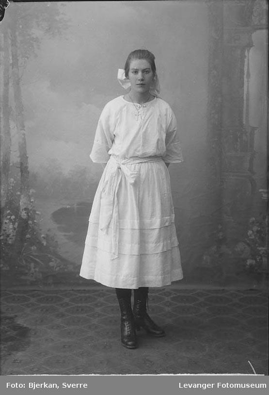 Portrett av Haltesmo Marie