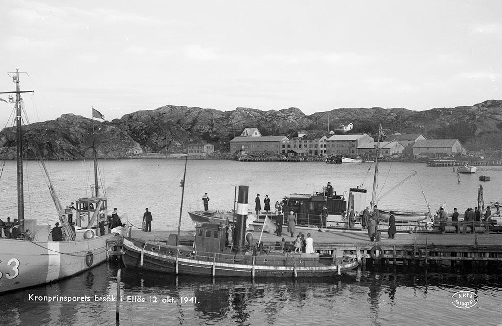 Kronprinsparrets besök 12/10 1941