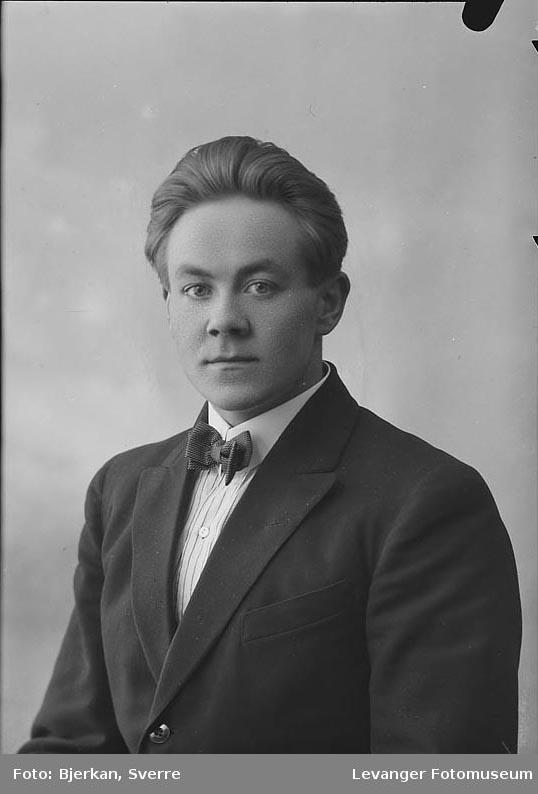 Portrett av Bjarne Slapgård