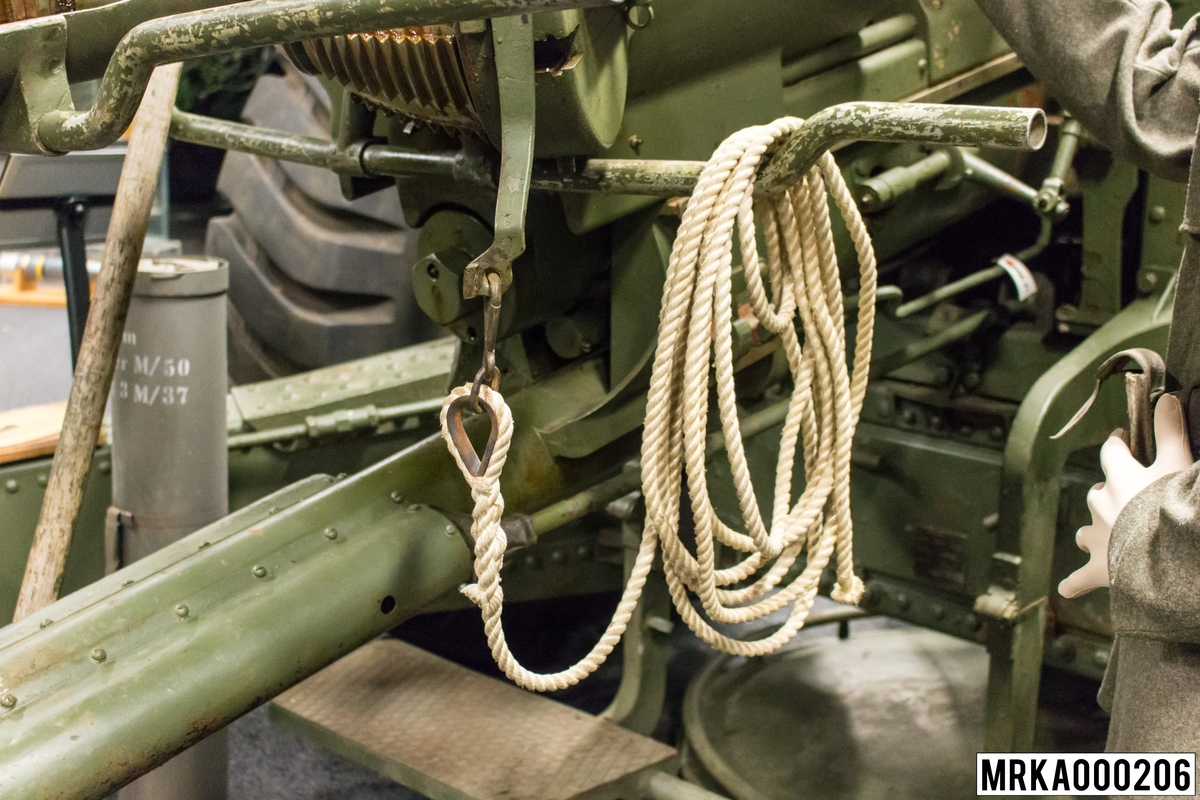 Avfyringslina 15,2 cm kanon m/37