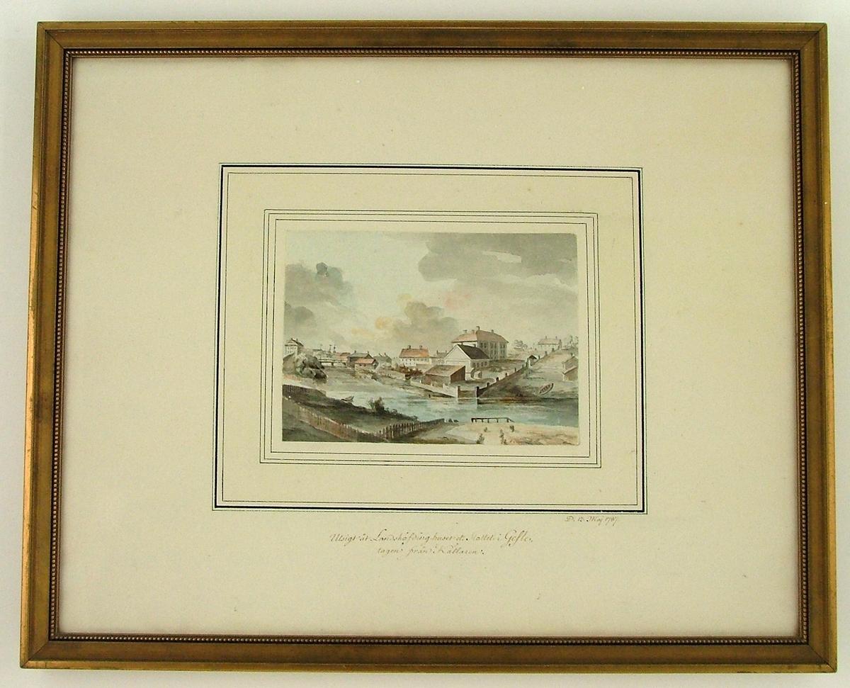 Gävle Slott 1787