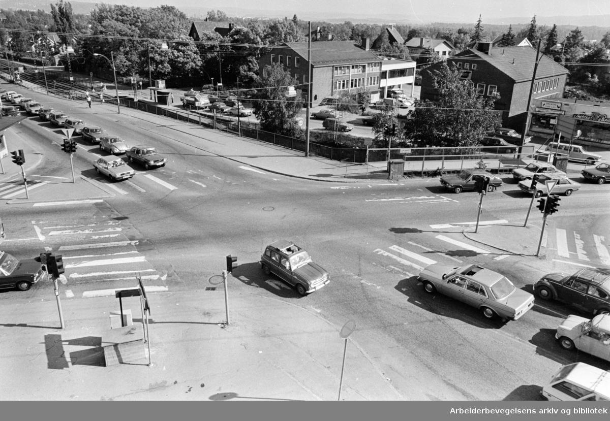 Smestad-krysset. Juni 1979