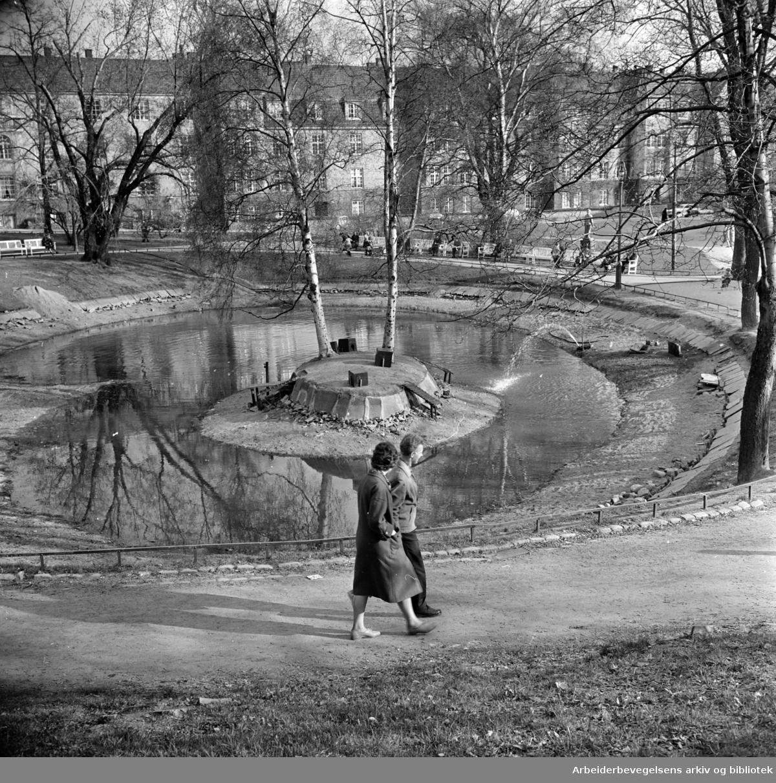 St.Hanshaugen. April 1961