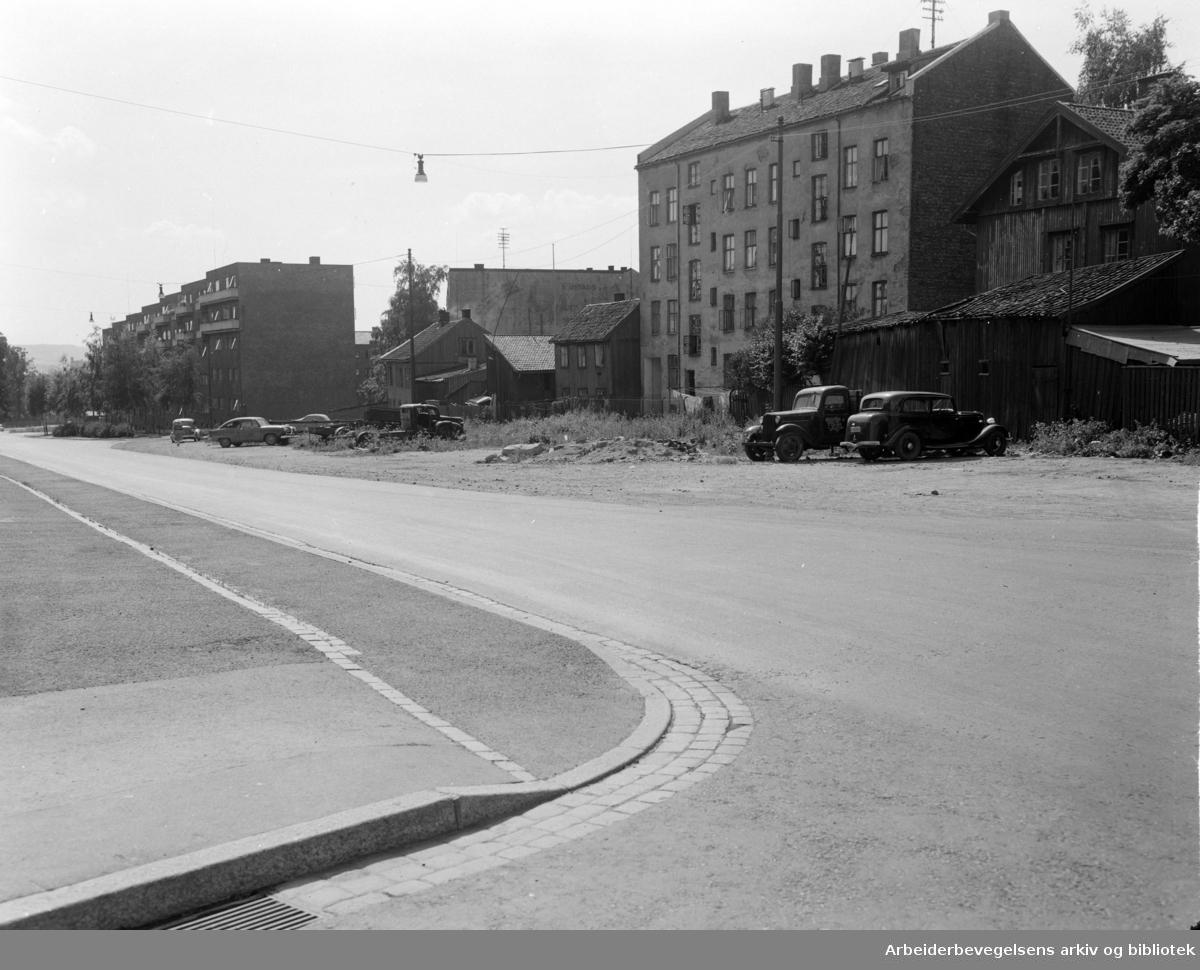 Sars gate. Boligstrøk.1950 -1955