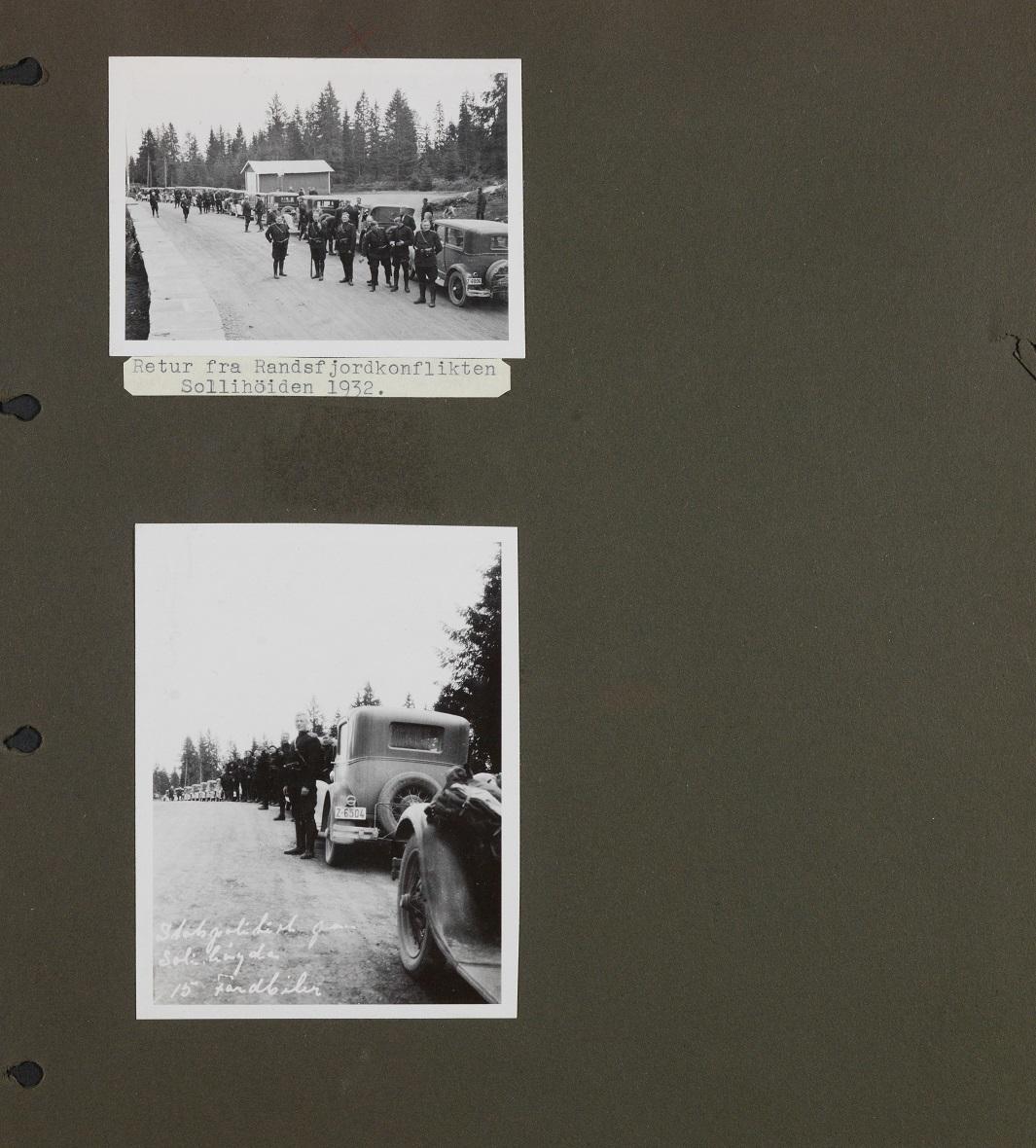 Bildet er en kopi hentet fra album A i Utrykningspolitiets fotosamling
