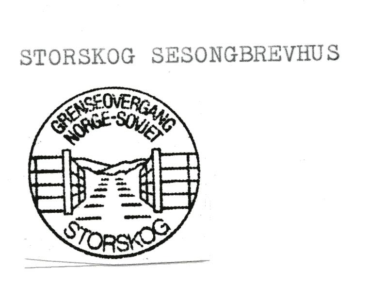 Stempelkatalog Storskog, Kirkenes, Sørvaranger, Finnmark