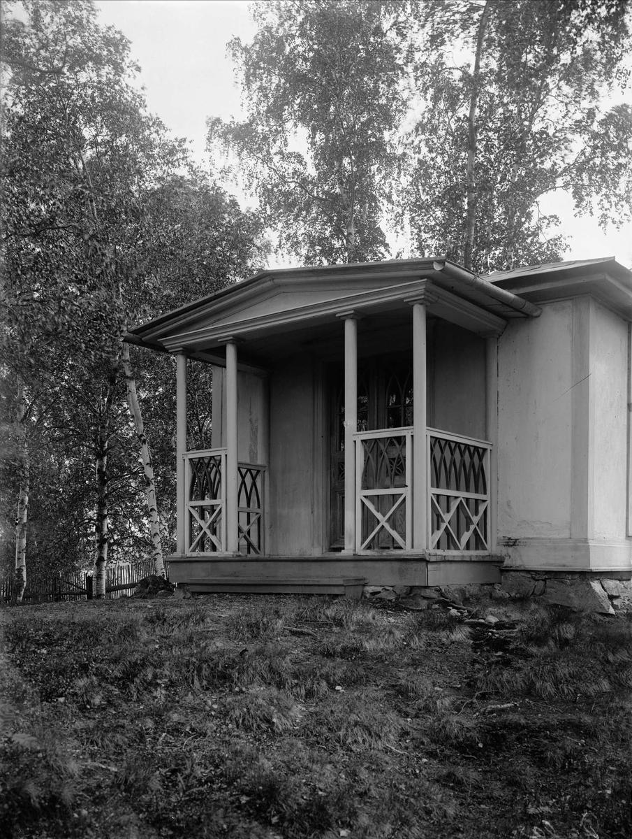 Lusthus vid gården Heden, Kopparbergs sn, Dalarna.