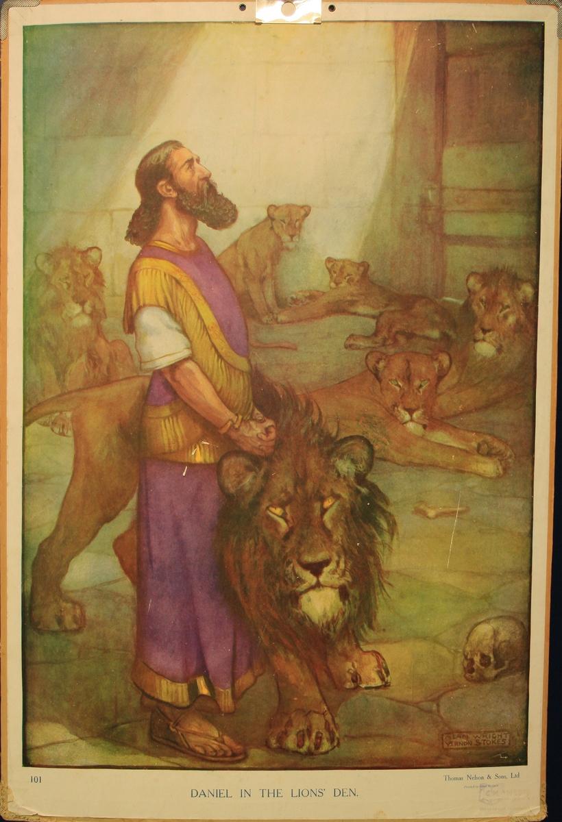 Daniel i løvehola.