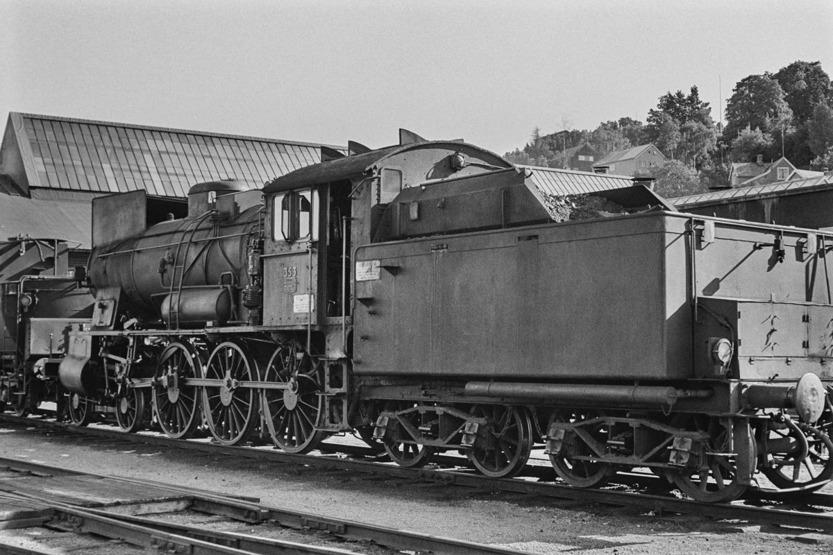 Utrangert damplokomotiv type 30b nr. 353.