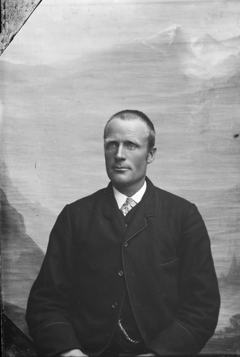 Portrett av Ole Iversen Eide, Nord-Fron