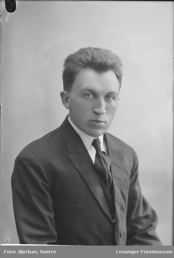Portrett av Sigurd Nøstebø
