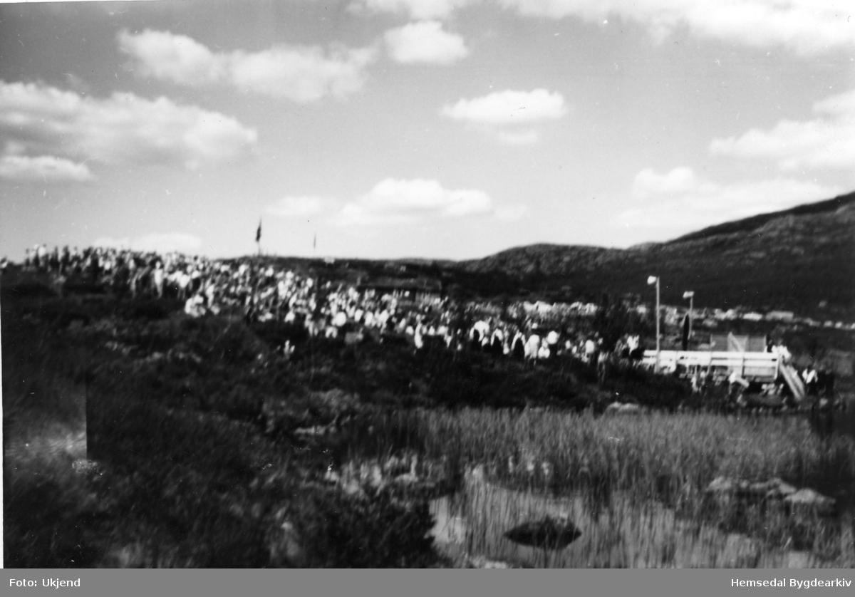 """Stemneplassen for """"Fjelldansen"""" i Holdeskaret i 1965."""