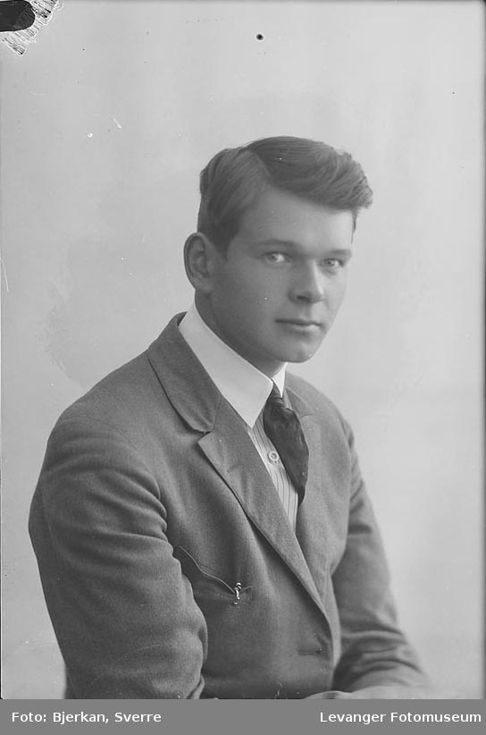 Portrett av Alf Østerås