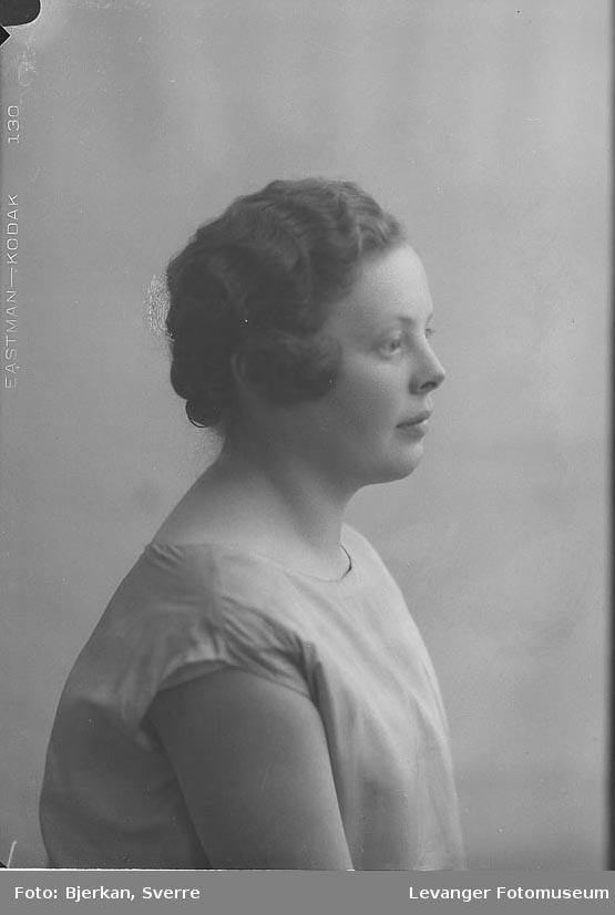 Portrett av Margot Ørslie