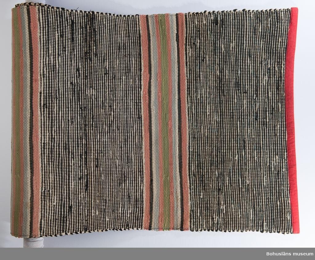 594 Landskap BOHUSLÄN 394 Landskap BOHUSLÄN  Se UM21224:1  Litteratur: Kerstin Ankert/Ingrid Frankow, Den svenska trasmattan, en kulturhistoria,  Prisma 2003.  UMFF 2:10